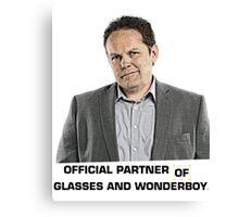 Fusco - Official Partner of Glasses and Wonderboy Canvas Print