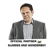 Fusco - Official Partner of Glasses and Wonderboy Photographic Print