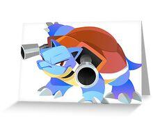 Blastoise Greeting Card
