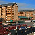 Britannia Warehouse and Docks, Gloucester by RedHillDigital