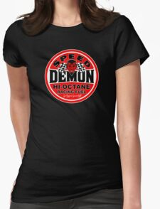 Speed Demon Womens Fitted T-Shirt