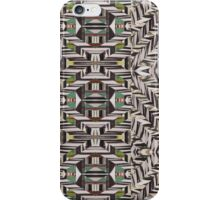 Black, White, & Green  iPhone Case/Skin