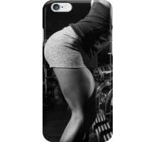 She works out iPhone Case/Skin
