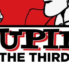 The Third  Sticker
