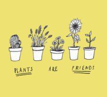 Plants Are Friends Kids Clothes