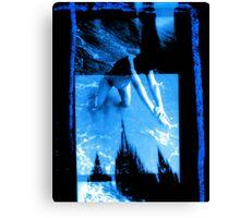 Ella Preggers & Cathedral X3 Towers Canvas Print