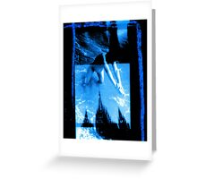 Ella Preggers & Cathedral X3 Towers Greeting Card