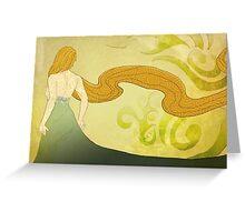 Simplistic beauty Greeting Card
