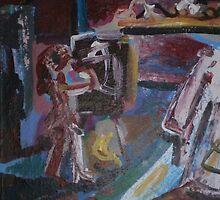 MODEL AND ARTIST(2011) by Paul Romanowski