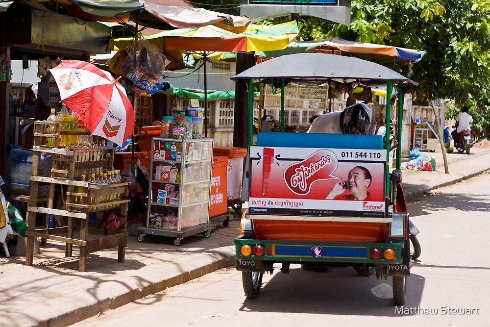 Hello Moto! (Siem Reap, Cambodia) by Matthew Stewart