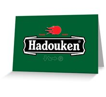 Brewhouse: Hadouken Greeting Card