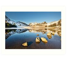 Blea Tarn - Lake District - Cumbria Art Print