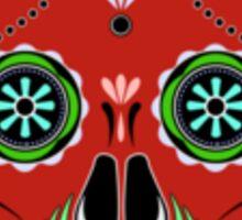 Sugar Skull Red Sticker