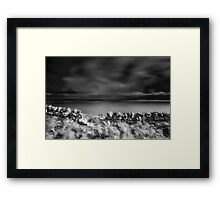 Long Exposure, Badbea, Caithness, Scotland Framed Print