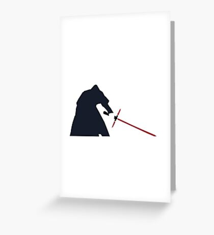 Star Wars Episode VII: The Force Awakens Greeting Card