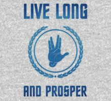 Live Long and Prosper - Spock's hand - Leonard Nimoy Geek Tribut One Piece - Long Sleeve