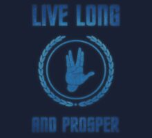 Live Long and Prosper - Spock's hand - Leonard Nimoy Geek Tribut Kids Tee