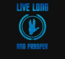 Live Long and Prosper - Spock's hand - Leonard Nimoy Geek Tribut T-Shirt