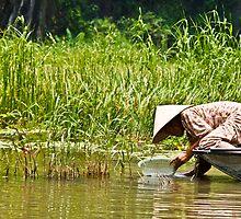 Vietnamese Woman (Tam Coc, Viet Nam) by Matthew Stewart