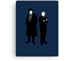 Holmes and Watson Canvas Print