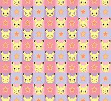 Pika Pixel Pattern by trollfish