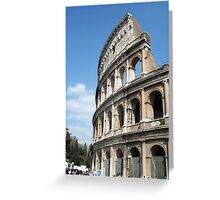 The Colisseum Greeting Card
