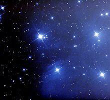 M45 pleiades seven sisters by 3rdrock