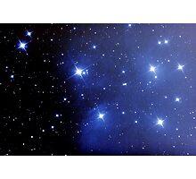 M45 pleiades seven sisters Photographic Print