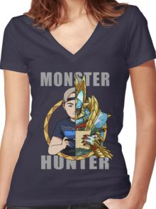 Hunter's Life (Glenn Z Custom) Women's Fitted V-Neck T-Shirt
