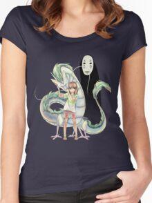 Spirited Away - Chihiro Women's Fitted Scoop T-Shirt