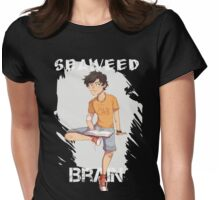 Seaweed brain Womens Fitted T-Shirt
