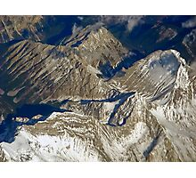 Snow in the Rockies Photographic Print