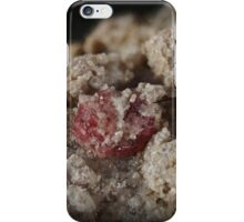 Red Beryl on Topaz iPhone Case/Skin