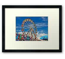 A Drink at the Fair Framed Print