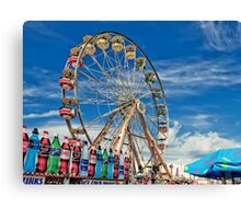 A Drink at the Fair Canvas Print
