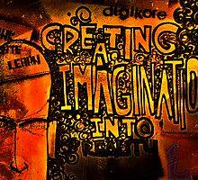 Graffiti - Creating imagination into reality by Prasad