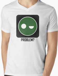 Superintendent PROBLEM? Mens V-Neck T-Shirt