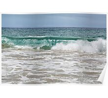 Makena Beach Wave Poster