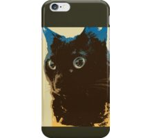 Alert Cat iPhone Case/Skin