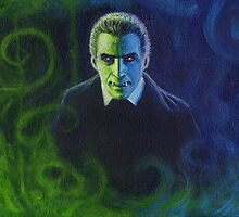 Dracula (Christopher Lee) by Conrad Stryker