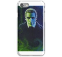 Dracula (Christopher Lee) iPhone Case/Skin