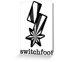 "Switchfoot ""S"" Logo (Stylized White) Greeting Card"