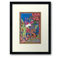 Contract with the Devil Framed Print