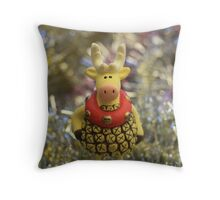 dress up for holiday Throw Pillow