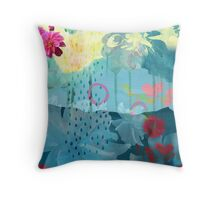 Awash Throw Pillow