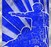 FC BLUE Army Propaganda (Weathered) by Maxdoggy