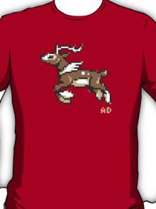 8-Bit winter Sawsbuck T-Shirt