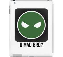 Superintendent U MAD BRO? (Winking SI) iPad Case/Skin