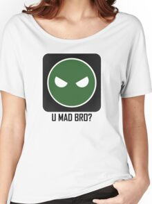 Superintendent U MAD BRO? Women's Relaxed Fit T-Shirt