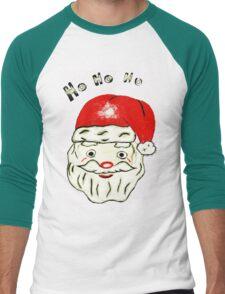 HO HO HO Men's Baseball ¾ T-Shirt